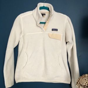 Patagonia fuzzy fleece pull over